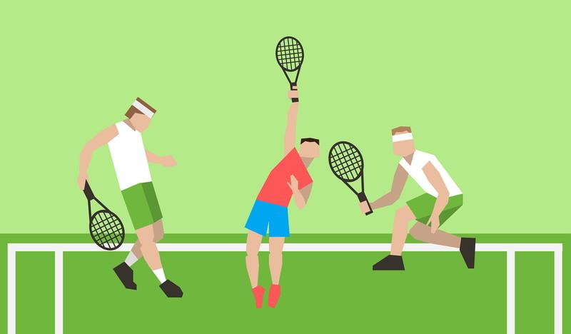 テニスのゲーム