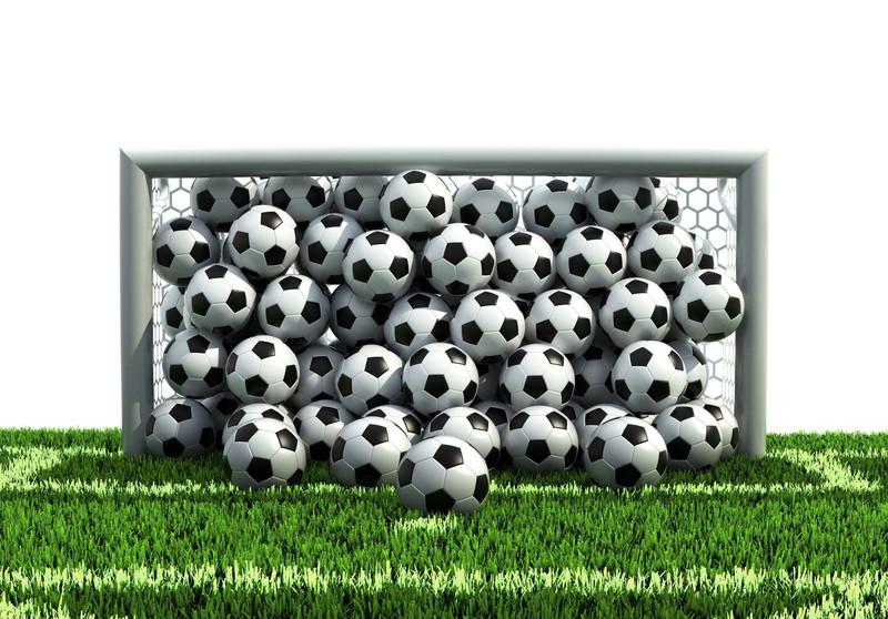 サッカーボールがぎっしり