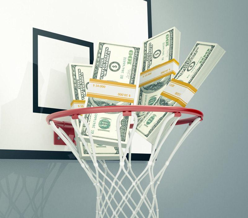 バスケとお金